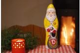 Mit dem Schoko-Weihnachtsmann der 'SG Dynamo Dresden' wird's erst richtig festlich