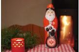 Mit dem Schoko-Weihnachtsmann der 'SG Eintracht Frankfurt' wird's erst richtig festlich