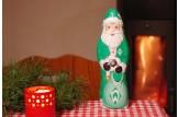 Mit dem Schoko-Weihnachtsmann des 'SV Werder Bremen' wird's erst richtig festlich