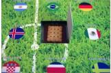 Das Schoko-Täfelchen der Schweiz ist zum Beispiel mit einem köstlichen Butterkeks belegt | Fan-Artikel | Detailansicht
