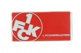 Mit der Schokoladentafel des '1. FC Kaiserslautern' schmeckt's einfach besser