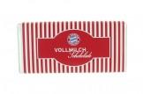 Mit der Schokoladentafel des 'FC Bayern München' schmeckt's einfach besser