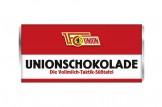 Mit der Schokoladentafel des '1. FC Union Berlin' schmeckt's einfach besser