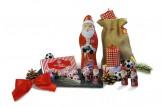 Das Weihnachts-Schoko-Fanpaket des 'FC Bayern München' macht sogar Weihnachten zum Fußball-Fest