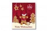 Premium Schoko-Adventskalender '1. FC Nürnberg' Vorderseite mit Motiv