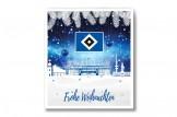 Premium Schoko-Adventskalender 'Hamburger SV' Vorderseite mit Motiv