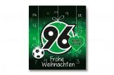 Premium Schoko-Adventskalender 'Hannover 96' Vorderseite mit Motiv