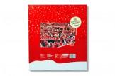 Premium Schoko-Adventskalender '1. FC Köln' Rückseite mit Weihnachtswünschen