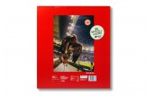 Premium Schoko-Adventskalender 'SG Eintracht Frankfurt' Rückseite mit Weihnachtswünschen