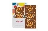 chocri 'Bayerisch Karamell' Schokoladentafel ausgepackt