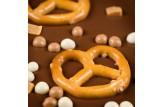 chocri 'Bayerisch Karamell' Schokoladentafel im Detailansicht