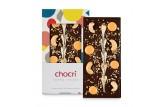 chocri 'Cashew Orange' Schokoladentafel ausgepackt
