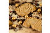 chocri 'Berry Christmas' Weihnachts-Schokoladen-Tafel Detailansicht