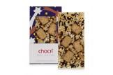 chocri 'Berry Christmas' Weihnachts-Schokoladen-Tafel ausgepackt