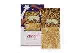 chocri 'Gold Night' Weihnachts-Schokoladen-Tafel ausgepackt