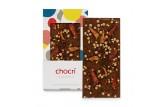 chocri 'Superheld' Schokoladen-Tafel ausgepackt