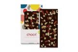hocri 'Zartbitter exotisch' Vegane Schokoladen-Tafel ausgepackt