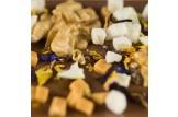 chocri 'Apfelkuchen' Schokoladen-Tafel Detailansicht