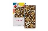 chocri 'Apfelkuchen Erntedank' Schokoladen-Tafel ausgepackt