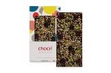 chocri 'Beerenstark' Schokoladen-Tafel | In der Verpackung ausgepackt
