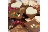 chocri 'Zeit zu zweit' Mini-Schokoladen-Tafeln Detailansicht