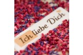 chocri 'Herzklopfen' Schokoladen-Tafel mit kandiertem Flieder
