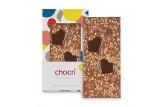 chocri 'Herzensnuss' Schokoladen-Tafel | außerhalb der Verpackung