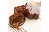 BARÚ 'Dreamy Chocolate Hippos Dark Chocolate Sea Salt Caramel' Pralinen Detail