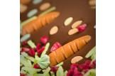 chocri 'Frohe Ostern!' Gruß-Schokoladen-Tafel Detail