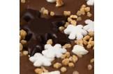 chocri 'Vegolade Winterapfel' - vegane Kakaotafel Detailsansicht