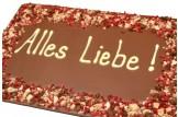chocri 'Alles Liebe!' Maxi-Gruß-Schokoladen-Tafel