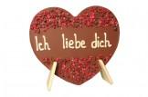 """chocri """"Ich liebe Dich"""" Schokoladen-Herz"""