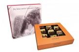 chocri 'Weltreise' Mini-Schokoladen-Tafeln mit individueller Verpackung
