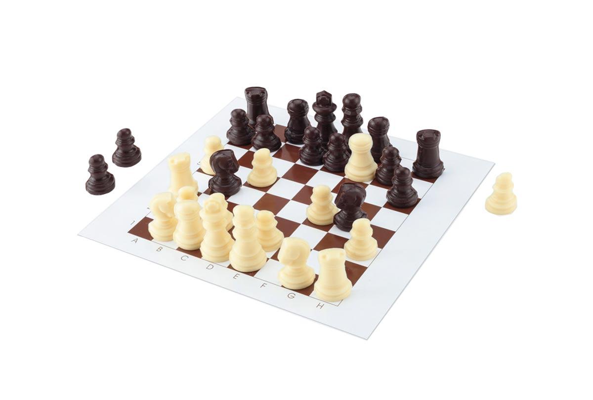 Hussel Confiserie Schachmatt Schokoladenspiel