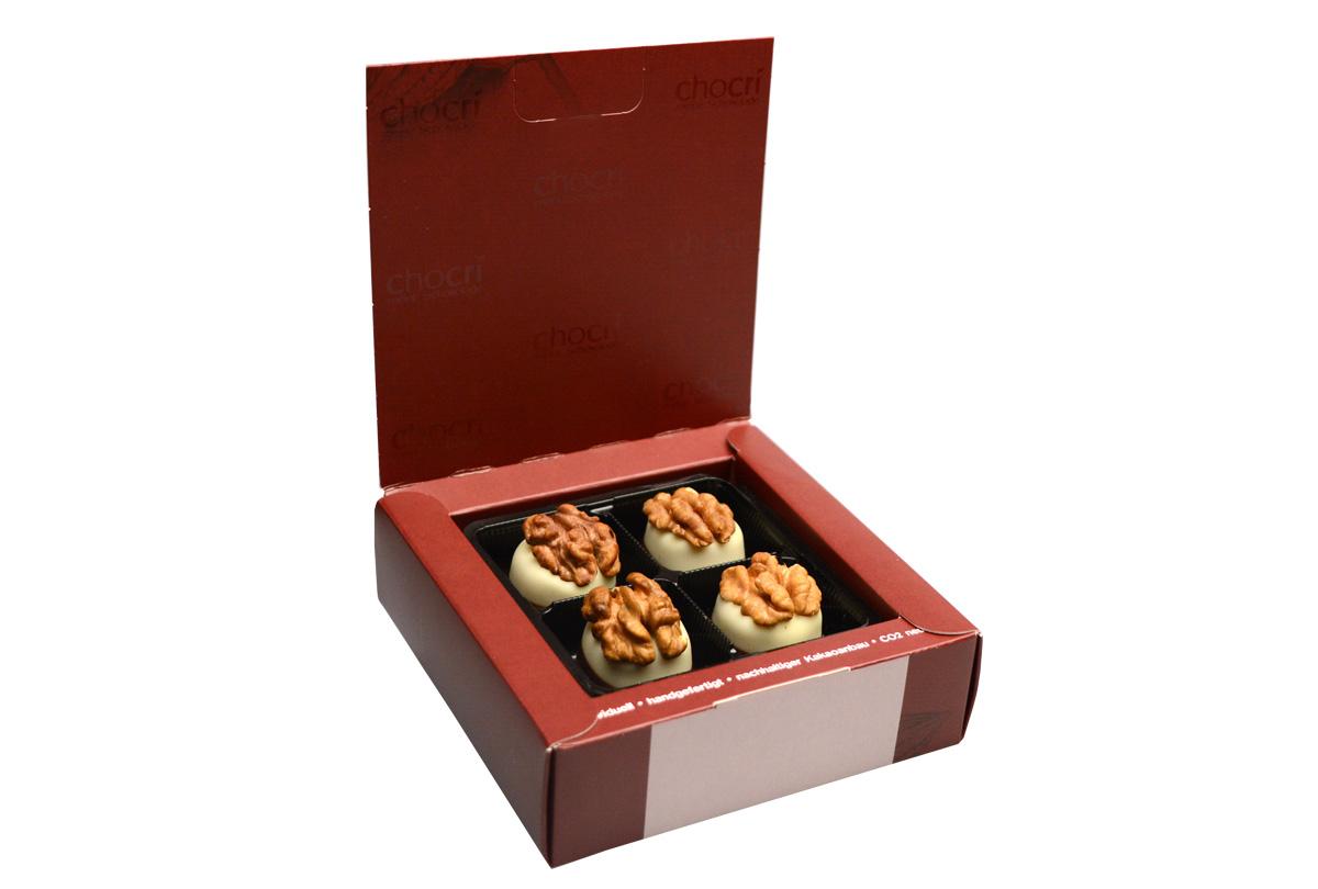 Walnuss Marzipan Pralinen Box