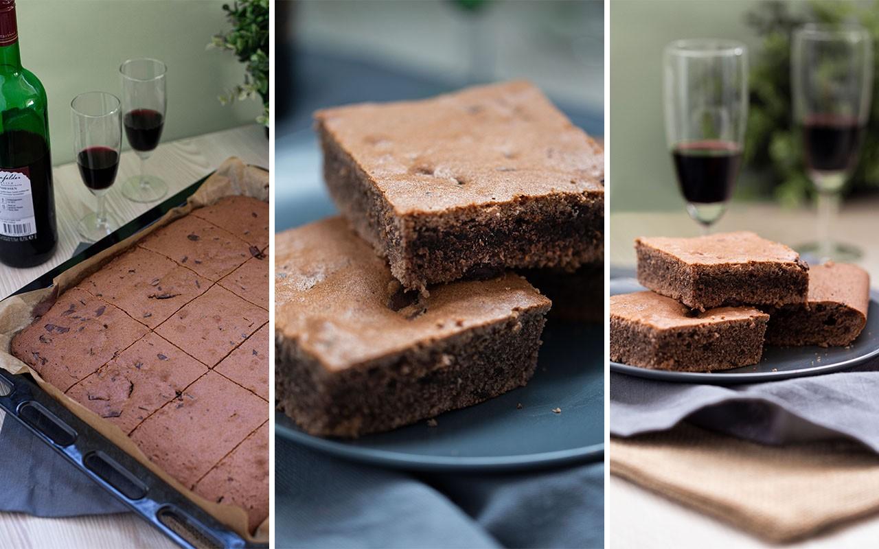Rotwein-Schokoladenkuchen