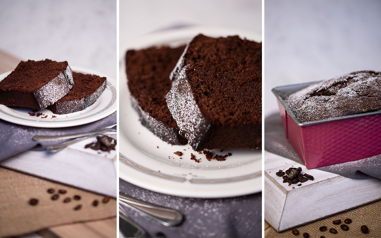 einfaches und schnelles Schokoladenbrot