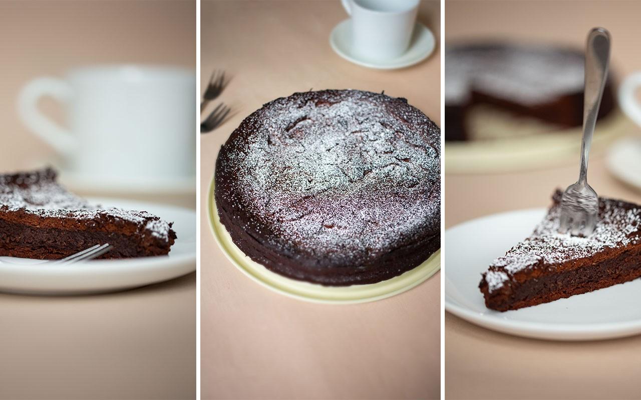 Schokoladenkuchen ohne Mehl (glutenfrei)