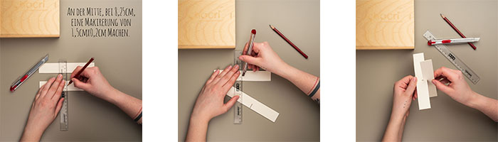 chocri Anleitung Upcycling Ideen Holzbox wird eine Teebox - Schritt 3, 4 und 5