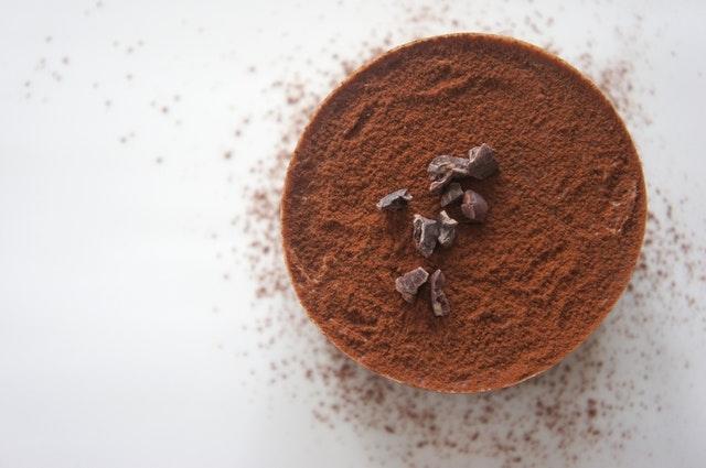 Kakaopulver und Schokolade