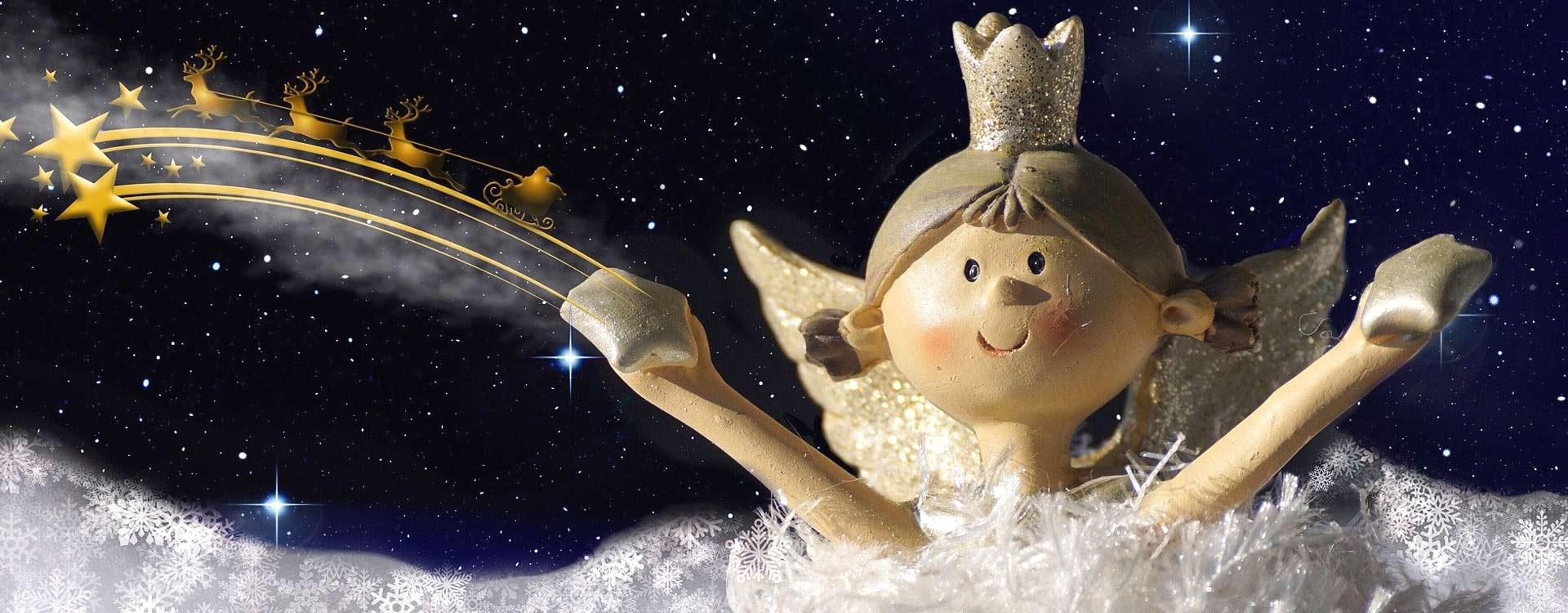 Das Christkind, seine Geschichte und viel nützliches Wissen über Weihnachten