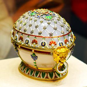 Die mit Abstand teuersten Ostereier der Welt sind die von Fabergé