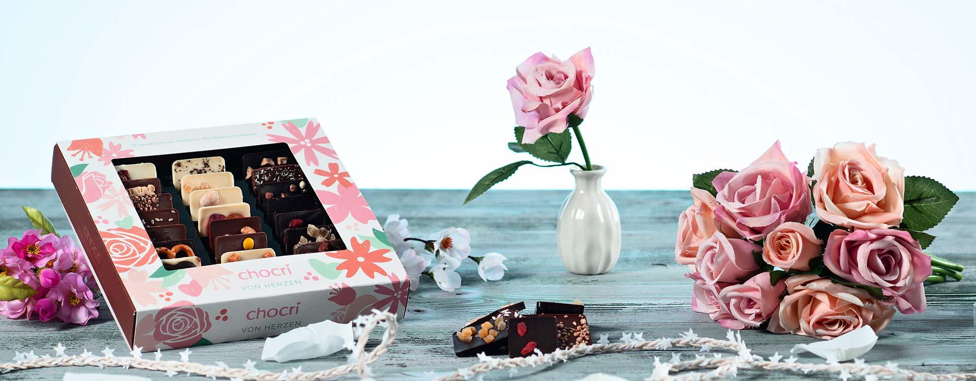 Am zweiten Sonntag im Mai – am Muttertag – sagen wir Kinder unseren Müttern gerne mit Blumen, Schokolade und Geschenken lieb Dankeschön