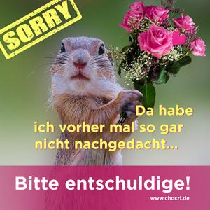 Sprüche zum Entschuldigung sagen: Sorry, da habe ich vorher mal so gar nicht nachgedacht. Bitte entschuldige!