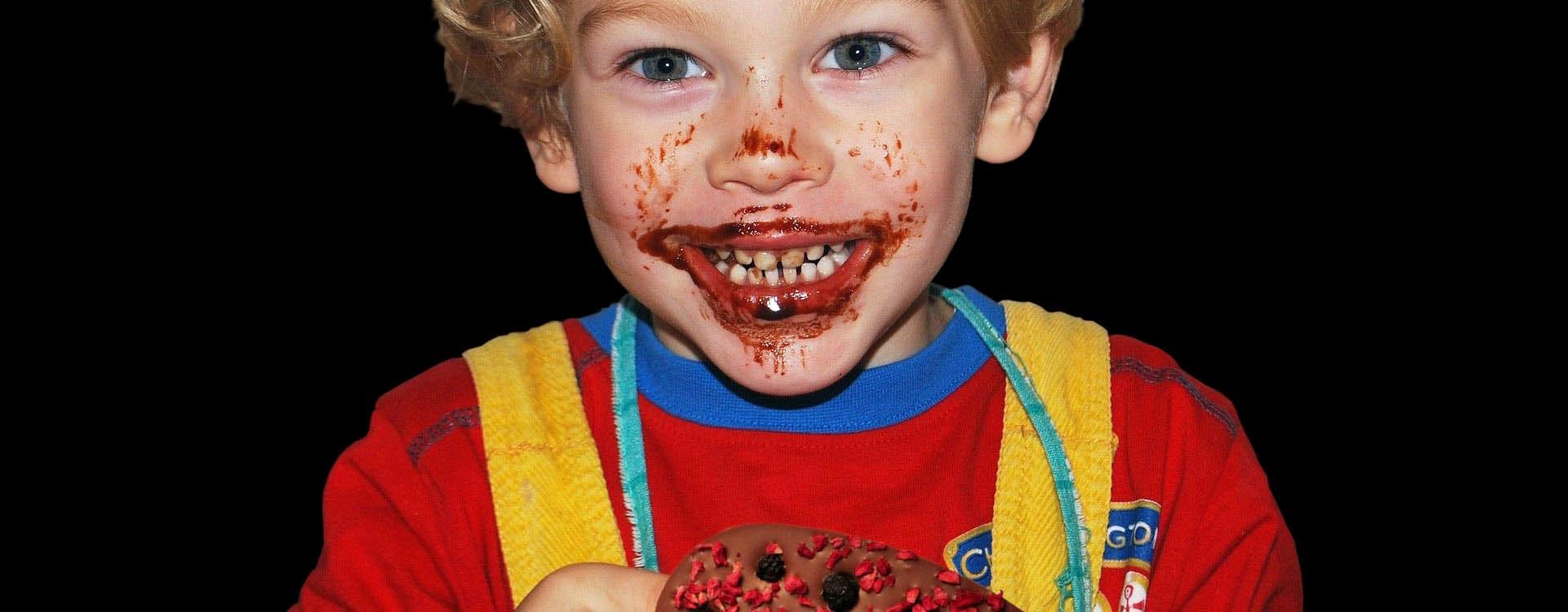 Auf der Suche nach mehr Glück hilft Schokolade manchmal mehr als Schmuck oder Geld
