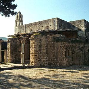 Die Reste der historischen Kirche von Bischof Nikolaus in Myra, dem heutigen Demre in der Türkei © Klaus-Peter Simon, CC-BY-SA 3.0, via Wikimedia Commons
