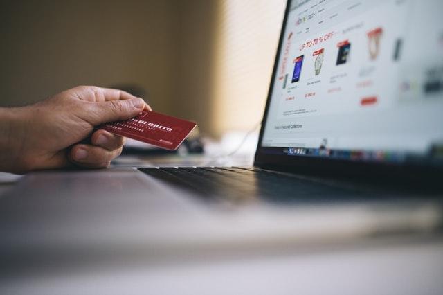 Zahlarten Laptop Kreditkarte