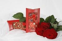 Ein liebevolles Schoko-Bouquet zum Valentinstag 2010