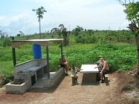 Neue offene Küche in Gagnoa