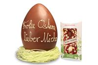 Diese riesigen Schoko-Oster-Eier findet garantiert jeder, sogar Oma ohne Brille